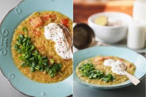zupa z pora i soczewicy