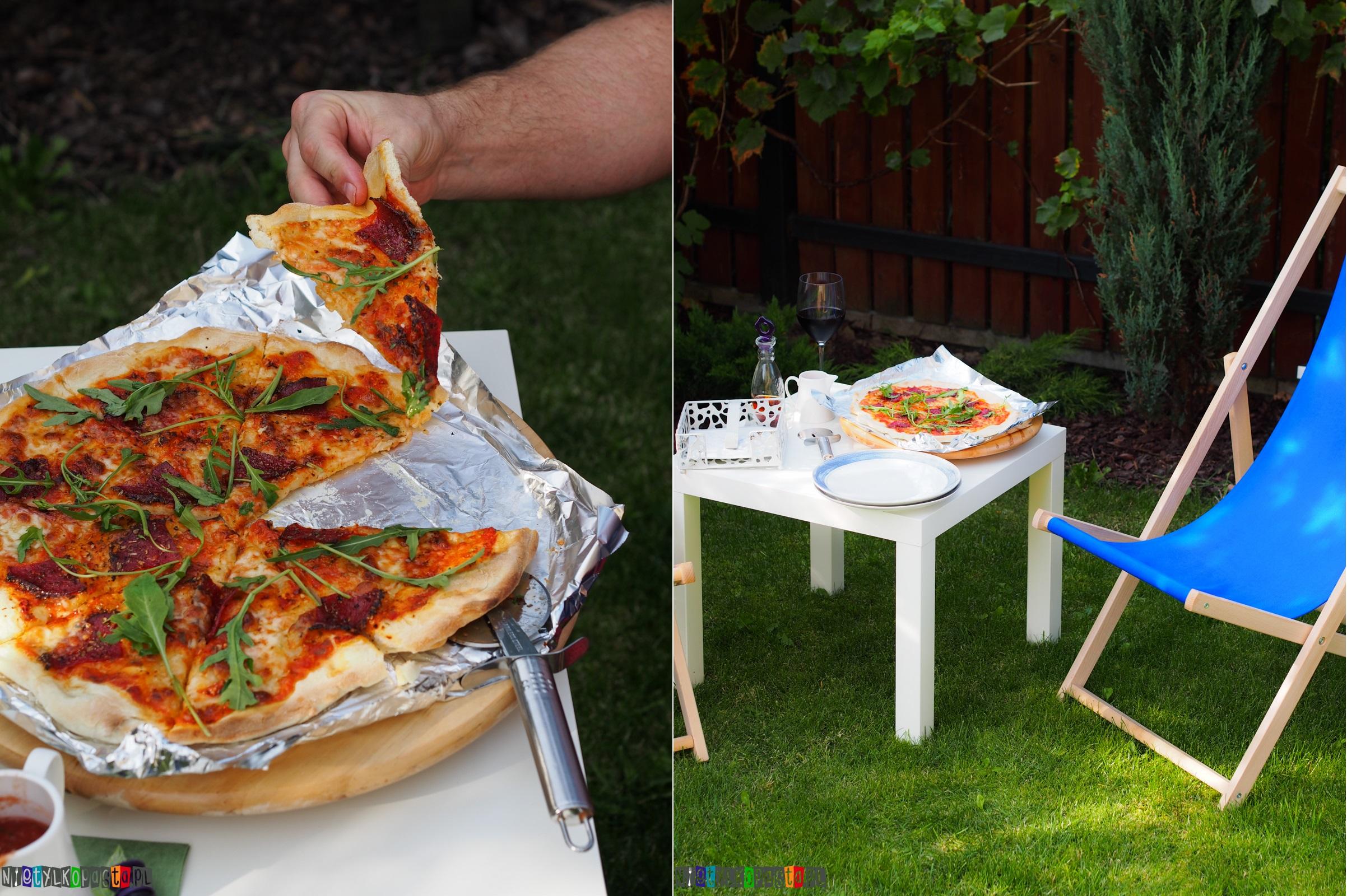 przepis na pizzę z salami